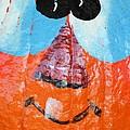Painted Pumpkin 1 by Maria Urso