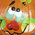 Painted Pumpkin 3 by Maria Urso