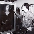 Painting A Portrait by Bill Joseph  Markowski