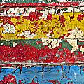 Painting Peeling Wall by Garry Gay