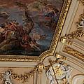 Palace Ceiling Detail by Lorraine Devon Wilke