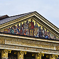 Palace Of Art - Heros Square - Budapest by Jon Berghoff