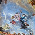 Palace Of Versailles Ceiling Art by Jon Berghoff