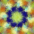Pallet Of Colors by Deborah Benoit