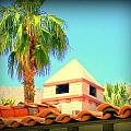 Palm Springs Pyramid Colonial by Randall Weidner