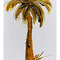 South Carolina Palm Tree by C F Legette