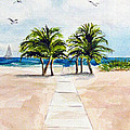 Palm Trees by Clara Sue Beym