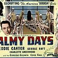 Palmy Days, Eddie Cantor, Charlotte by Everett