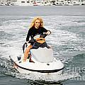 Pamela Anderson Is A Jet Ski Vixen by Nina Prommer