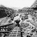 Panama Canal - Construction At The Culebra Cut - C 1910 by International  Images