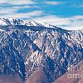 Panamint Mountain Range In Death Valley  by Anne Kitzman