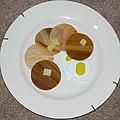 Pancakes And Eggs by Diane Morizio