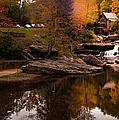 Panorama  Glade Creek Mill by Randall Branham