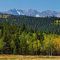 Panorama Scenic Autumn View Of The Colorado Indian Peaks by James BO  Insogna
