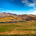 Panoramic Range Land by Robert Bales