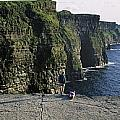 Panoramic View Of Cliffs, Cliffs Of by The Irish Image Collection