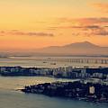 Panoramic View Of Niteroi by Daniela Gama