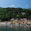 Panoramic View Of Toscolano-maderno by Jeff Rose