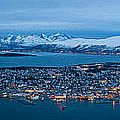 Panoramic View Of Tromso In Norway  by U Schade
