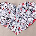 Paper Dump Heart Concept by Aleksandr Volkov