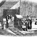 Papermaking, 1833 by Granger