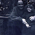 Pappa Hans With Daughter Colette by Colette V Hera  Guggenheim
