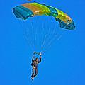 Parachuting by Karol Livote