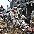 Pararescuemen Prepare To Transport by Stocktrek Images