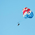 Parasailers Over Marco by Christine Stonebridge