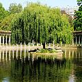 Parc Monceau Paris by Andrew Fare