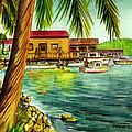 Parguera Fishing Village Puerto Rico by Frank Hunter