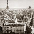 Paris: Aerial View, 1900 by Granger