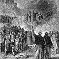 Paris: Burning Of Heretics by Granger