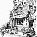 Paris: Cafe, 1889 by Granger