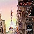Paris Eiffel Tower by Irina Sztukowski