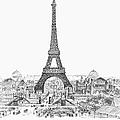 Paris Exhibition, 1889 by Granger
