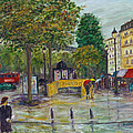Paris In The Rain by Sandy Starr