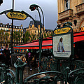 Paris Metro 1 by Andrew Fare