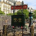 Paris Metro 3 by Andrew Fare