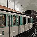 Paris Metro by Mary Machare