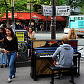 Paris Musicians 2 by Andrew Fare