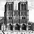 Paris: Notre Dame, 1600s by Granger