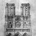 Paris: Notre Dame, 1848 by Granger