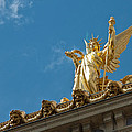 Paris Opera House V   Exterior Facade by Jon Berghoff