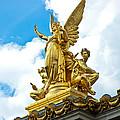 Paris Opera House Vi  Exterior Facade by Jon Berghoff
