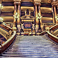 Paris Opera House Vii  Grand Stairway by Jon Berghoff