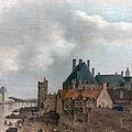 Paris: Pont Neuf, 1637 by Granger