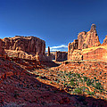 Park Avenue 1 Arches National Park by Ken Smith