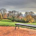 Park Bench Cincinnati Observatory by Jeremy Lankford