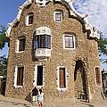 Park Guell Barcelona Antoni Gaudi by Matthias Hauser